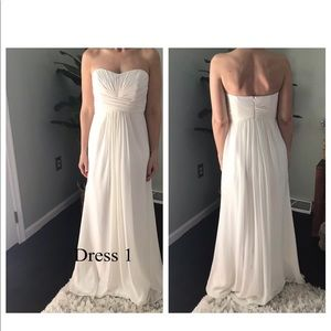 Formal gown from David's Bridal